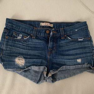 Jbrand 26 denim shorts